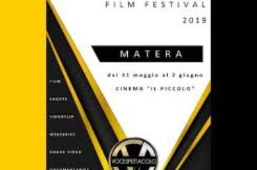VOCE SPETTACOLO FILM FESTIVAL 2019: Al via dal 31 maggio al 2 giugno a Matera