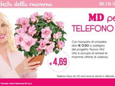 MD: iniziativa a sostegno di Telefono Rosa