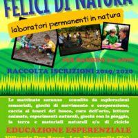 """""""Laboratori Permanenti in Natura"""", la Coop. Scurpiddu di Foggia apre le iscrizioni"""