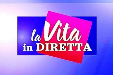 """Lorella Cuccarini ed Alberto Matano a """"La vita in diretta"""""""