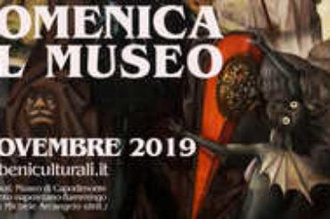 MUSEI, MIBACT, DOMENICA 3 NOVEMBRE TORNANO LE DOMENICHE GRATUITE