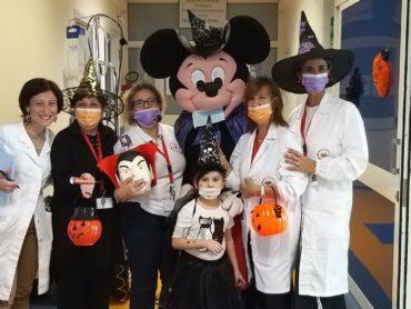 SOLETERRE all'ospedale SS. Annunziata, nel reparto di oncoematologia pediatrica, GRANDE CONTRO IL CANCRO