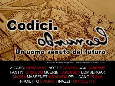 """""""Codici. Leonardo"""" """"Un uomo venuto dal futuro"""""""