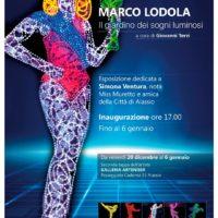 Arte in Liguria Marco Lodola illumina Alassio